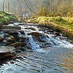 waterfall in snowdonia